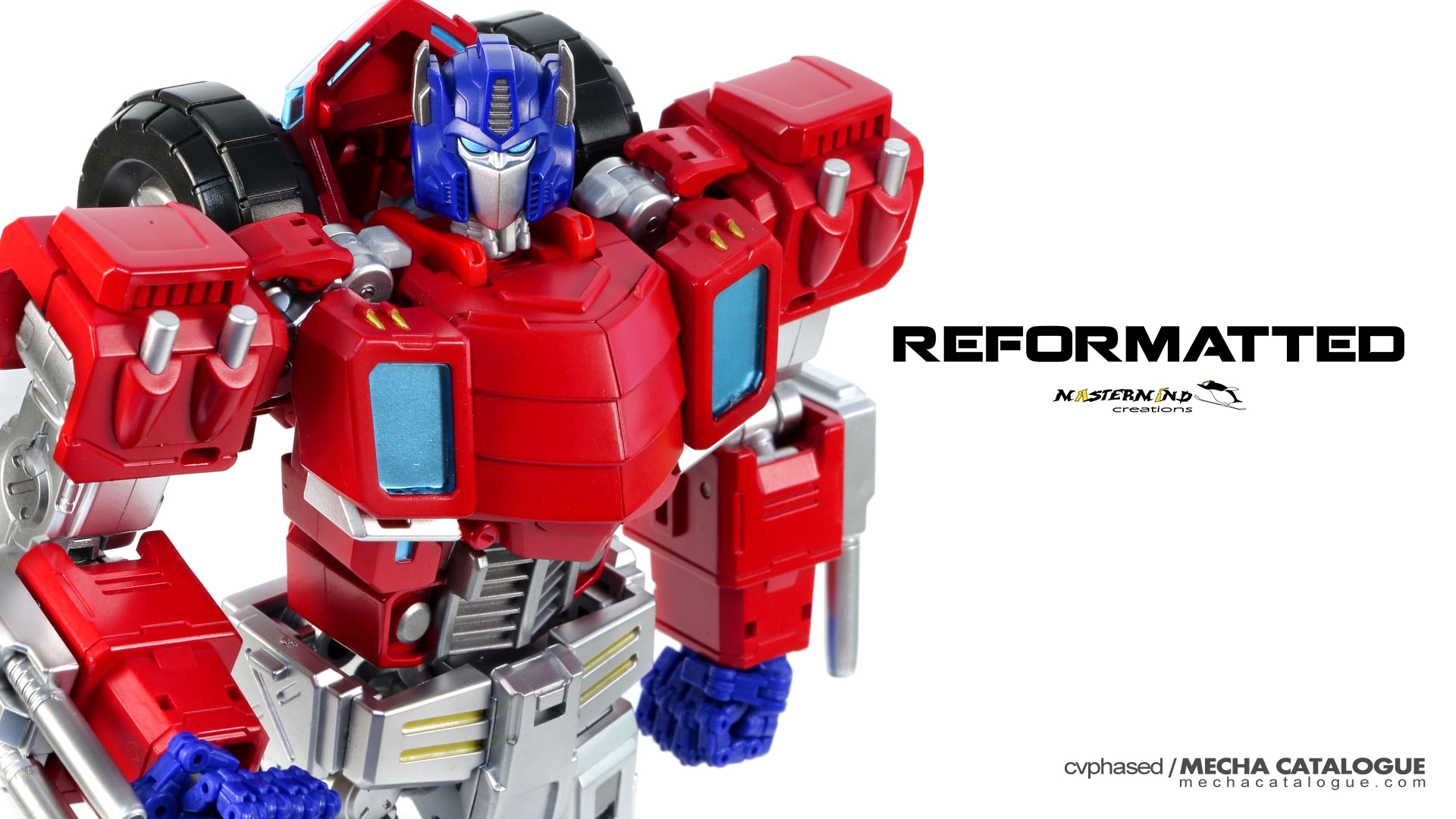 So Articulated, But Still Transforms! Mastermind Creations Reformatted OPTUS PEXUS