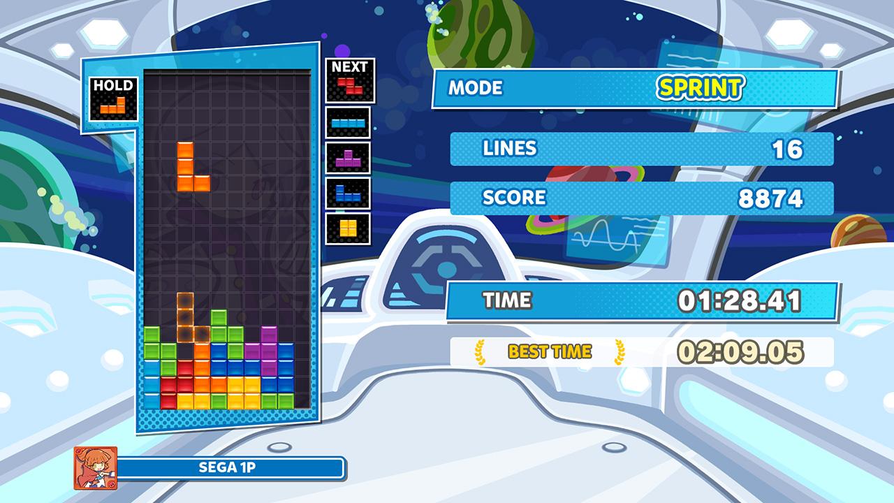 Puyo Puyo Tetris 2 - Tetris Sprint