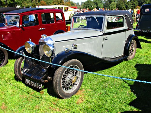 366 Lagonda Rapier Fixed Head Coupe (1935) VG 8072