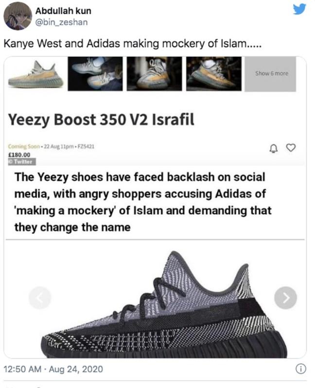 Kanye West Dikecam Gara-Gara Adidas Yeezy Boost Israfil & Asriel