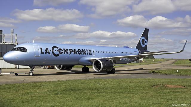 La Compagnie Airbus A321-251NX F-HBUZ East Midlands 24th August 2020