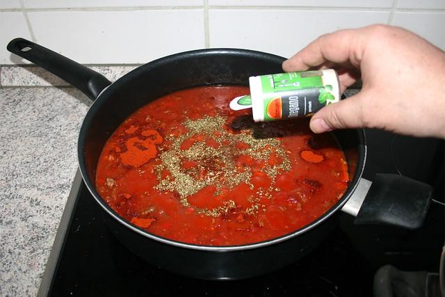 08 - Taste with seasonings / Mit Gewürzen abschmecken