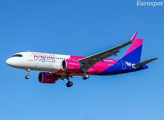 F-WWDZ Airbus A320 Neo Wizz