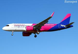 F-WWBT Airbus A320 Neo Wizz