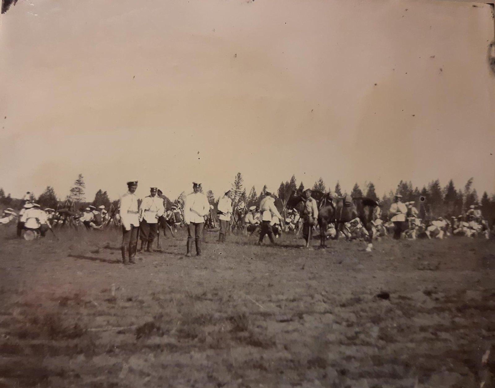 11. Ученья в лагере