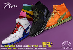 """Phedora. - """"Zion"""" Sneakers for MAN CAVE ♥"""