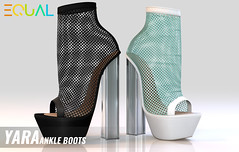 EQUAL - Yara Ankle Boots