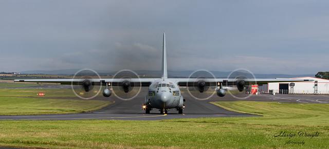 US Navy C130J Hercules