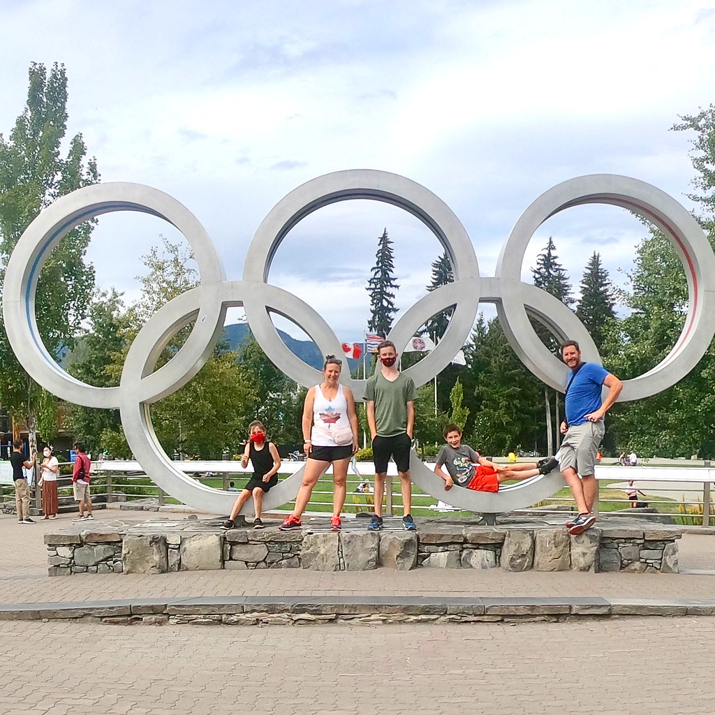 Whistler Olympic Rings