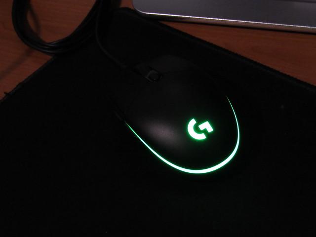 Logitech G203 Green