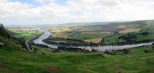 River Tay stitch, Perthshire, Kinnoull Hill