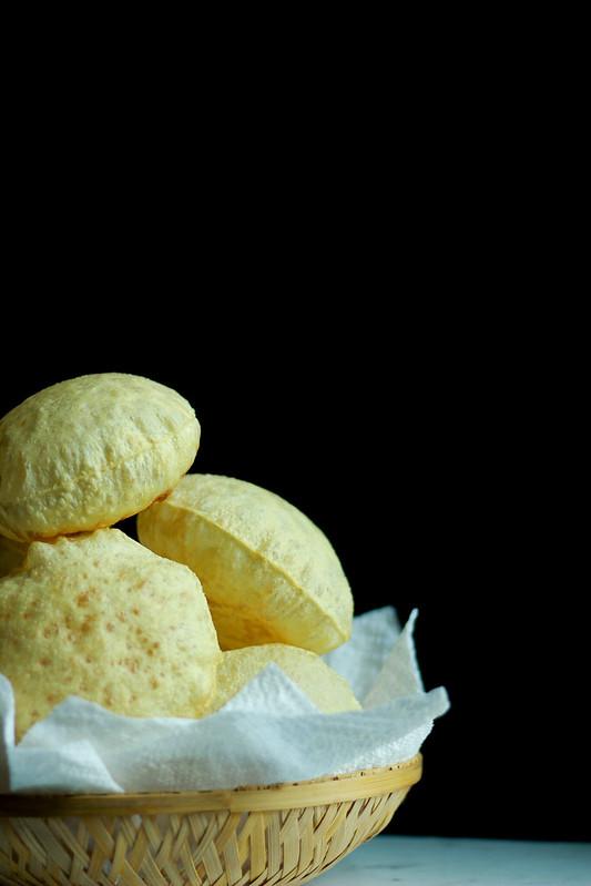 Homemade Pappadam