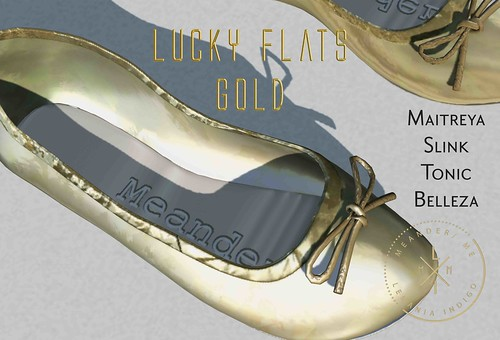Lucky Flats in Gold - Group Gift @ Meander