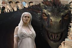Cosplay Daenerys Targaryen Game Of Thrones By Osian R. Vaquero