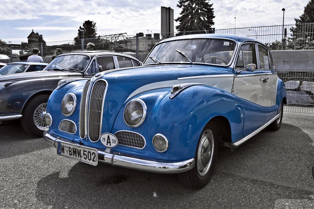 BMW 502 Luxus 1958 (7188) | 1958 BMW Typ 502 Modell 2.6L ...