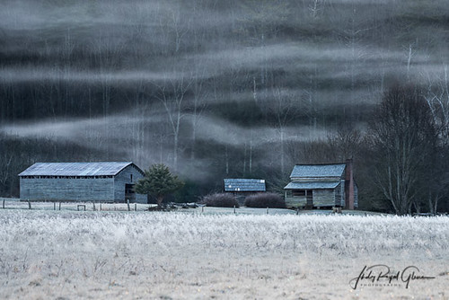 """A """"Magical Morning"""" at Dan Lawson Place in Cades Cove Tennessee in the Great Smoky Mountains National Park   Judy Royal Glenn Photography"""