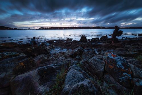 baden bretagne canon6dmarkii golfedumorbihan irix11mmf4 dark eau landscape paysage seascape sunset water