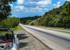 A travel to the past: The highway of Cuba