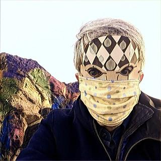 masked up