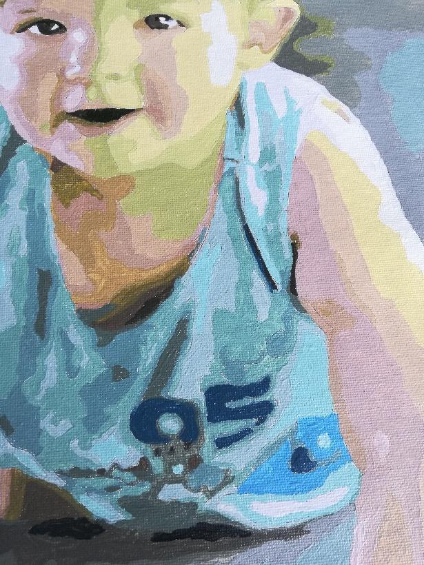 Portrait Paint by Number 1