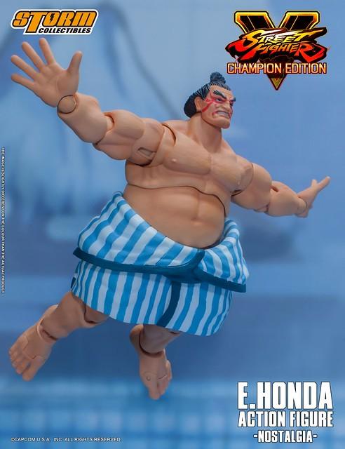 【更新圖片資訊】日本相撲界的閃耀之星!STORM COLLECTIBLES《快打旋風5》E. 本田