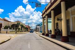 An Avenue in Holguín, Cuba