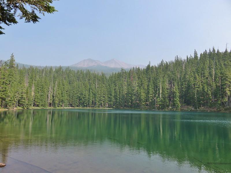 Diamond Peak from Corrigan Lake