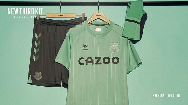 Everton 3rd kit 2020-21