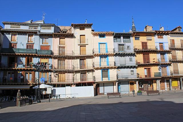 Market square, Calatayud, Spain