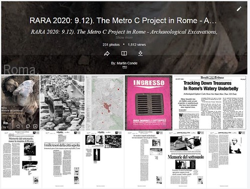 ROMA ARCHEOLOGICA & RESTAURO ARCHITETTURA 2020. Archaeologist Prof. Carlo Pavia, Tracking Down Treasures in Rome