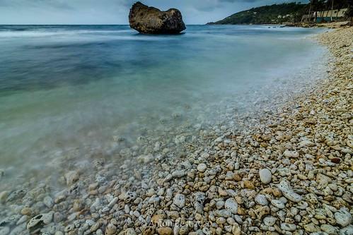 seascape landscape martinsbay stjohn barbados