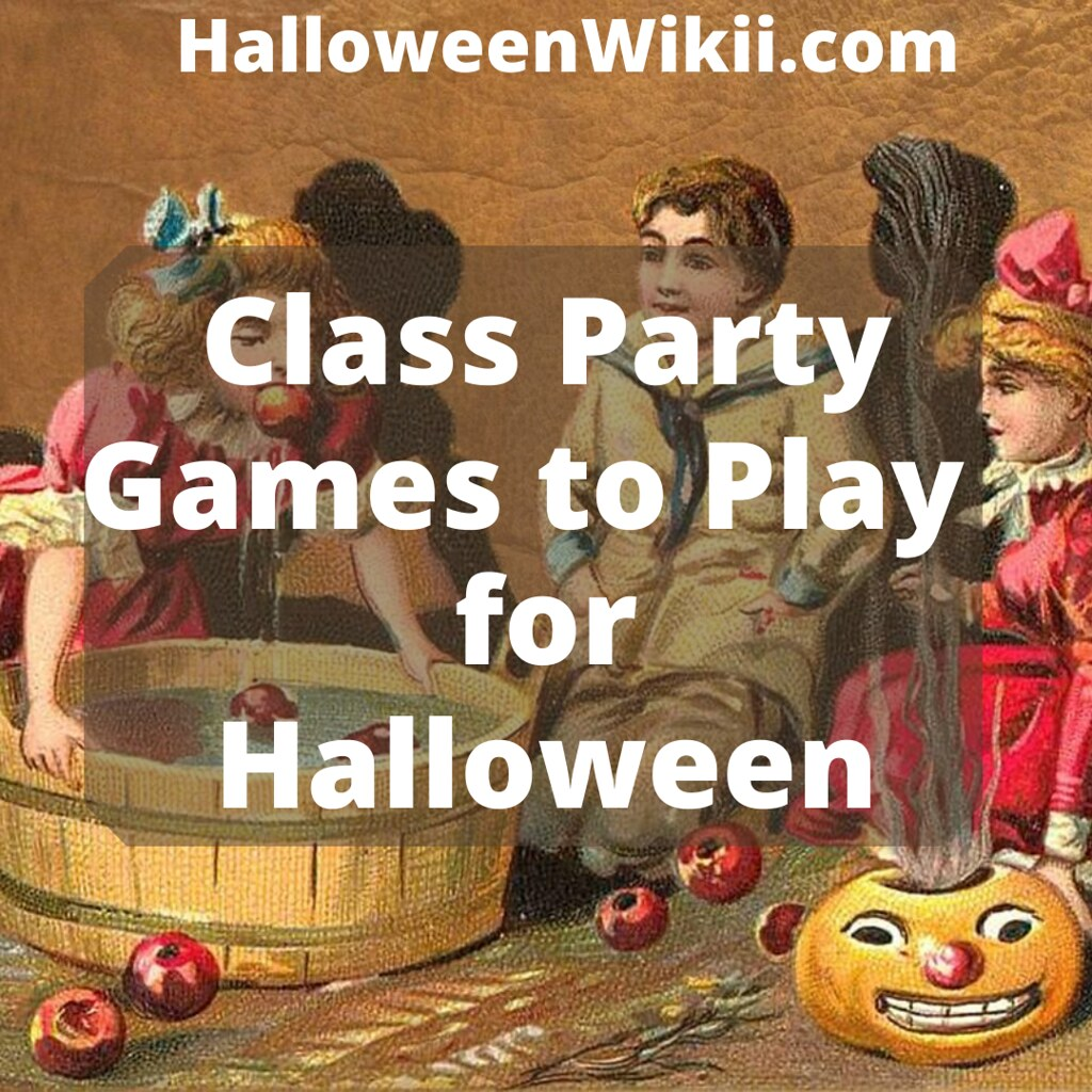 Class Party Games to Play for Halloween
