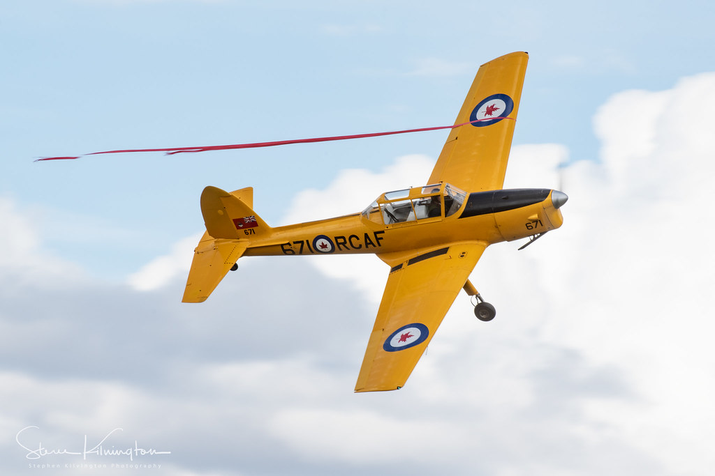 G-BNZC '671' - De Havilland Canada DHC-1 Chipmunk 22