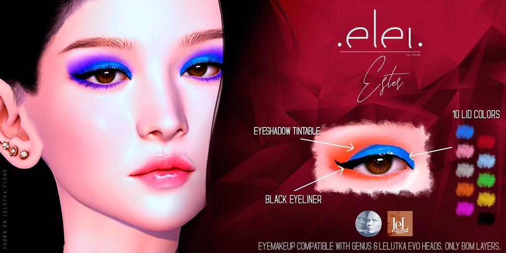 .E l e i. - Ester (Eyemakeup) for SOS
