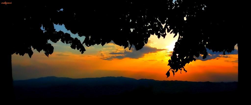 sunset frame