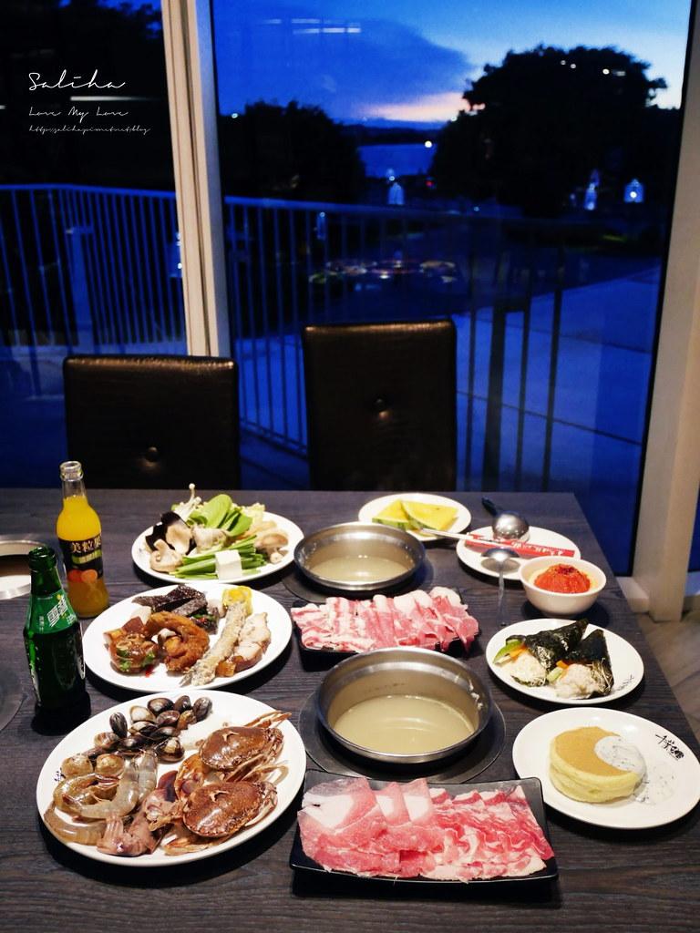 淡水一日遊景點行程推薦千葉火鍋吃到飽自助餐看夕陽落日好吃景觀餐廳 (2)