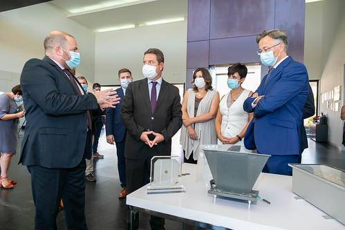 Visita a las instalaciones del Instituto de Sistemas Fotovoltaicos de Concentración