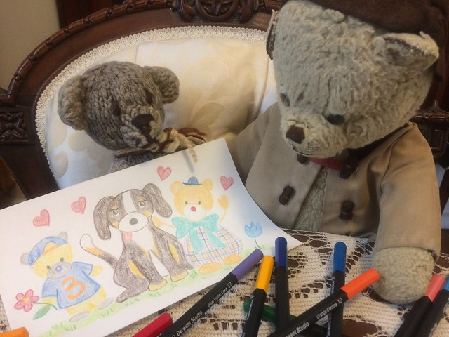 Paddington Reads Scout's Message of Hope and Love