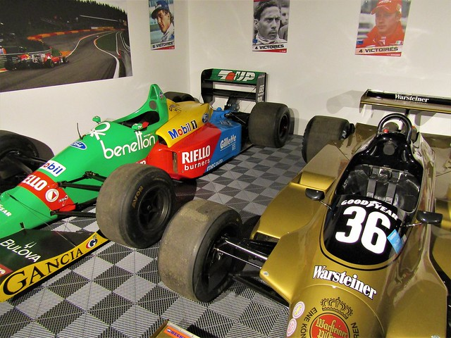 Spa-Francorchamps Racetrack Museum in Stavelot, Belgium