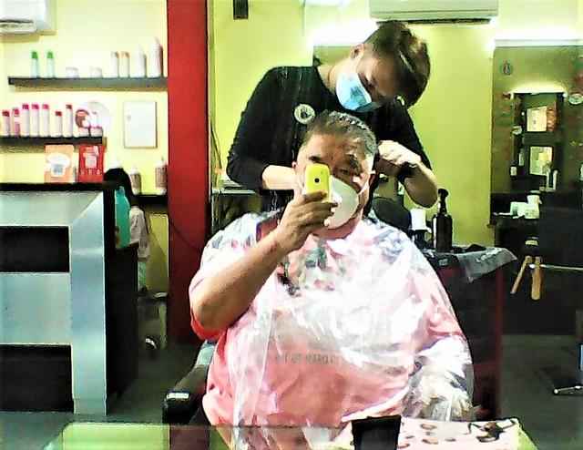 Haircut, Bethel Hair Salon
