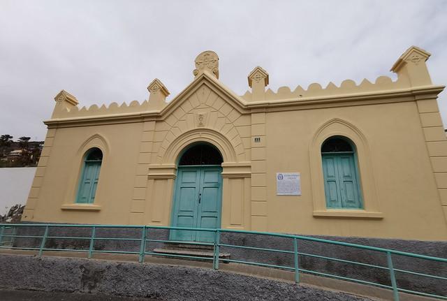 edificio Cementerio Inglés Risco o Barrio de San Jose Las Palmas de Gran Canaria