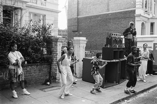 Notting Hill Carnival, 1990. Peter Marshall 90-820-14_2400