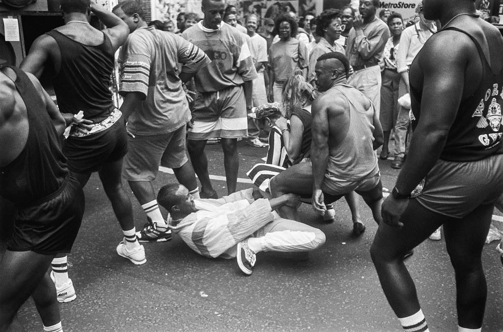 Notting Hill Carnival, 1990. Peter Marshall 90-828-45_2400