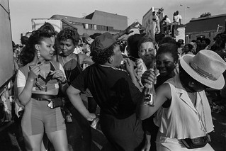 Notting Hill Carnival, 1991. Peter Marshall 91-9a-52_2400