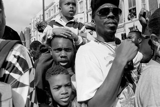Notting Hill Carnival, 1993. Peter Marshall 93-8bj-21-8_2400
