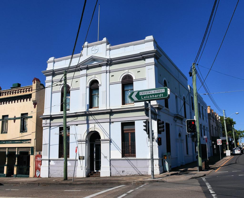 Building, Petersham, Sydney, NSW.