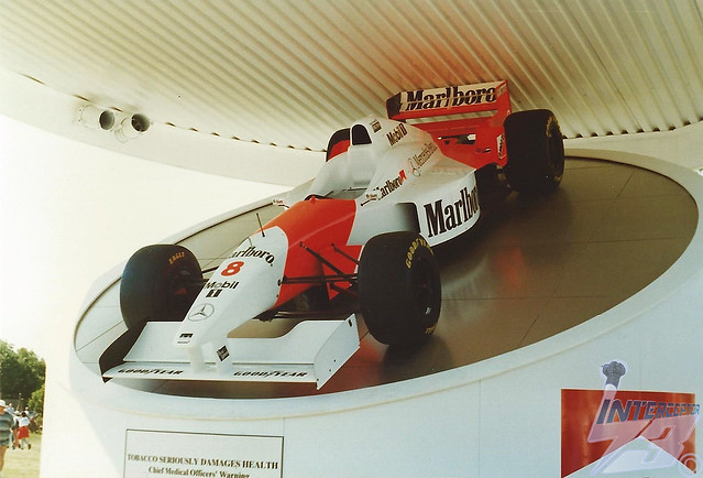 McLaren Mercedes-Benz MP4/11, 1996 British Grand Prix, Silverstone, 13th July