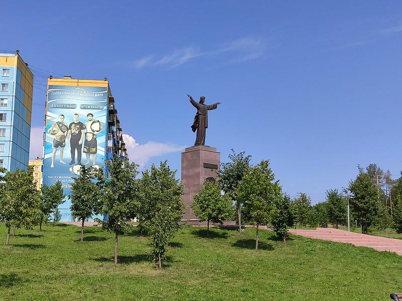 Прокопьевск - Статуя Христа