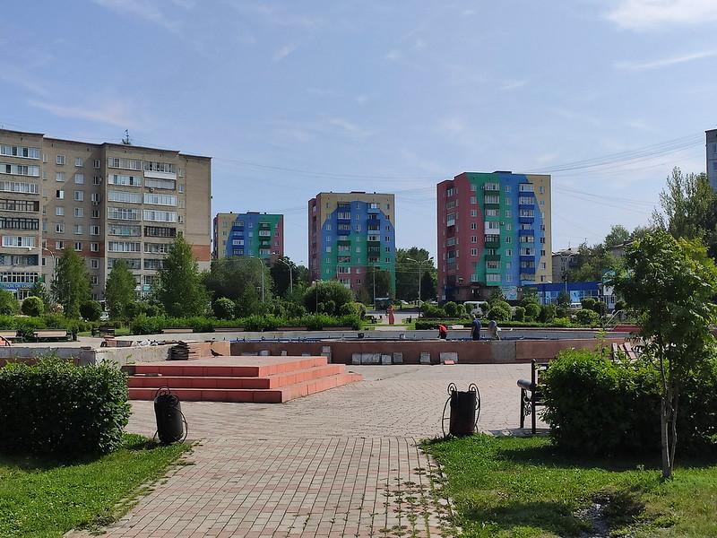 Прокопьевск - Городской фонтан