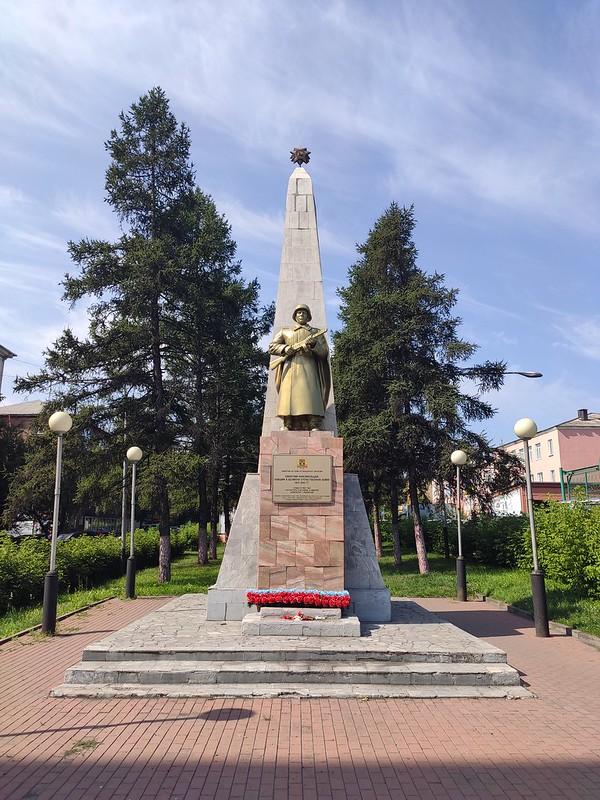 Прокопьевск - Памятник комсомольцам